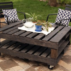 Diy Sofa From Pallets Decorating Living Room Black Leather 50 Wonderful Pallet Furniture Ideas And Tutorials View In Gallery Outdoor Rolling Table