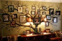 Wonderful DIY Amazing Family Tree Wall Art