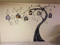 Wonderful DIY Amazing Family Tree Wall Art