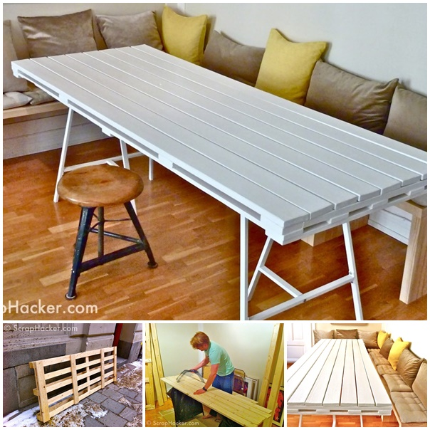 diy pallet living room furniture entertainment units 50 wonderful ideas and tutorials view in gallery dining table wonderfuldiy