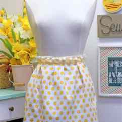 Kitchen Aprons Teal Appliances 15 Cute Diy Apron Patterns For Keeping Clean In The