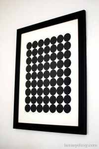 Black And White Wall Art Diy | www.imgkid.com - The Image ...