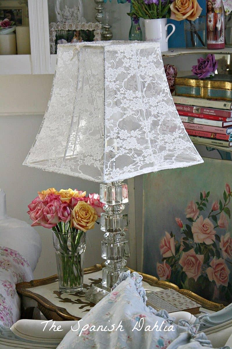 Delicate Beauty Decor Ideas Involving Lace