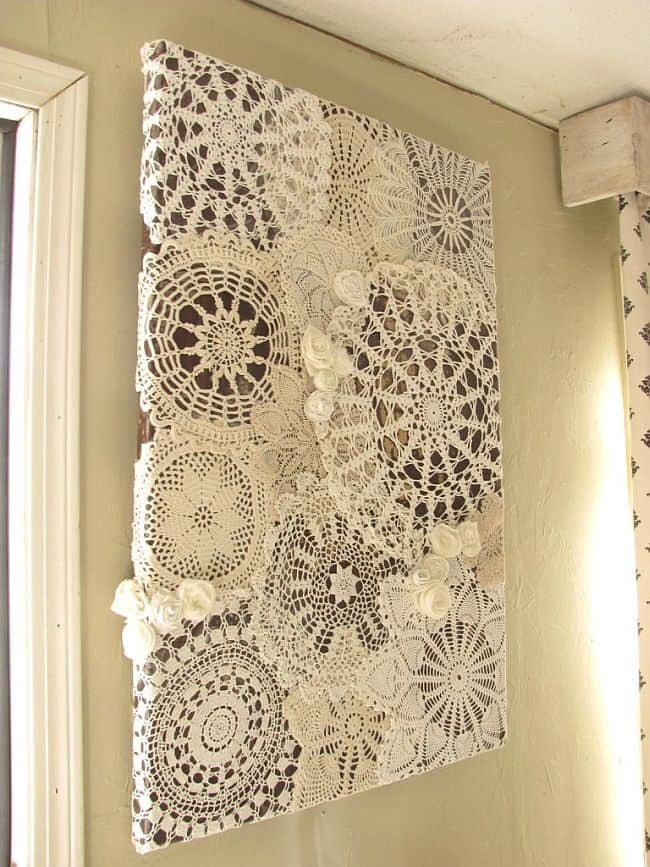 Delicate Beauty Decor Ideas Involving Lace