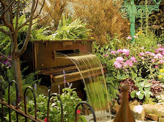 Vegetable Garden In Fall Wallpaper 12 Creative Ways To Repurpose Piano Parts