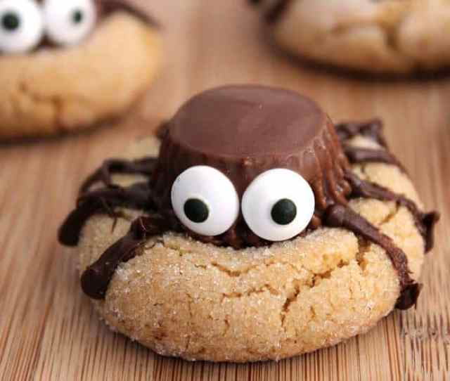 View In Gallery Spider Cookies