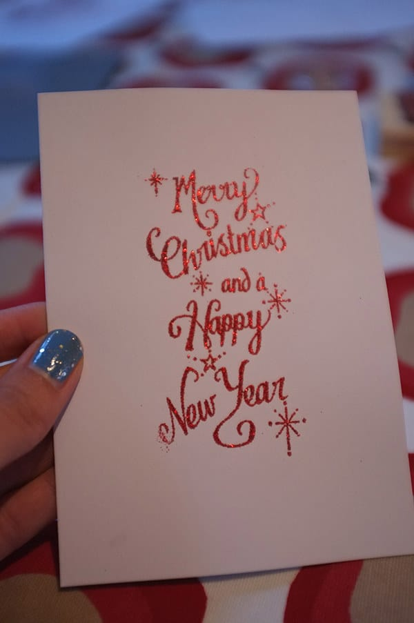 14 Beautiful Homemade Christmas Cards To Inspire You