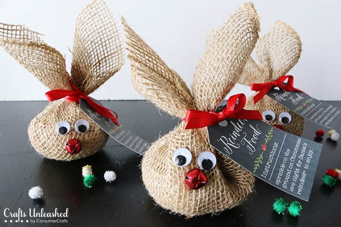 Reindeer Crafts For Christmas