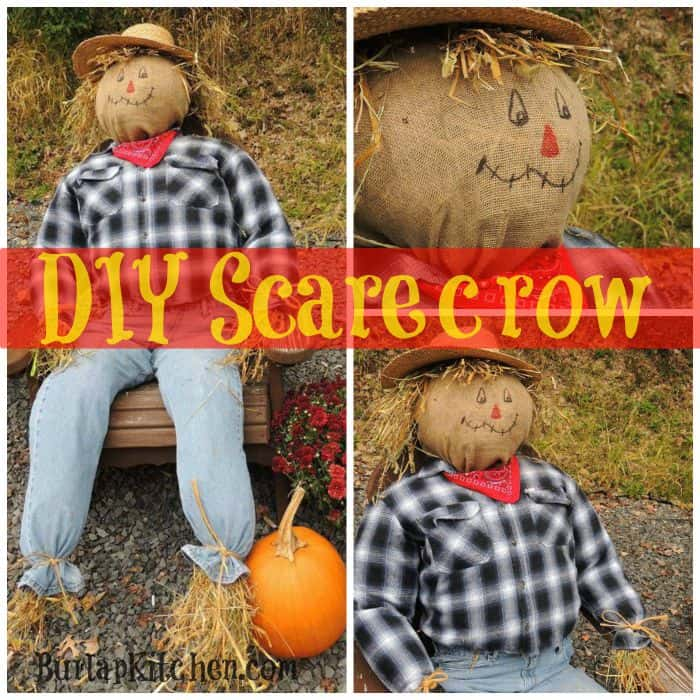 DIY Scarecrows Farmers Raggedy Helpers