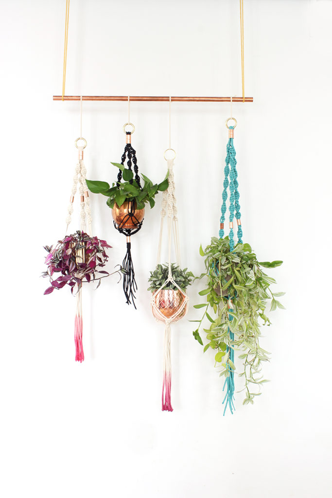 Interior Decor Plants Diy Macrame Plant Holders: A Chic Way To Hang Indoor Plants