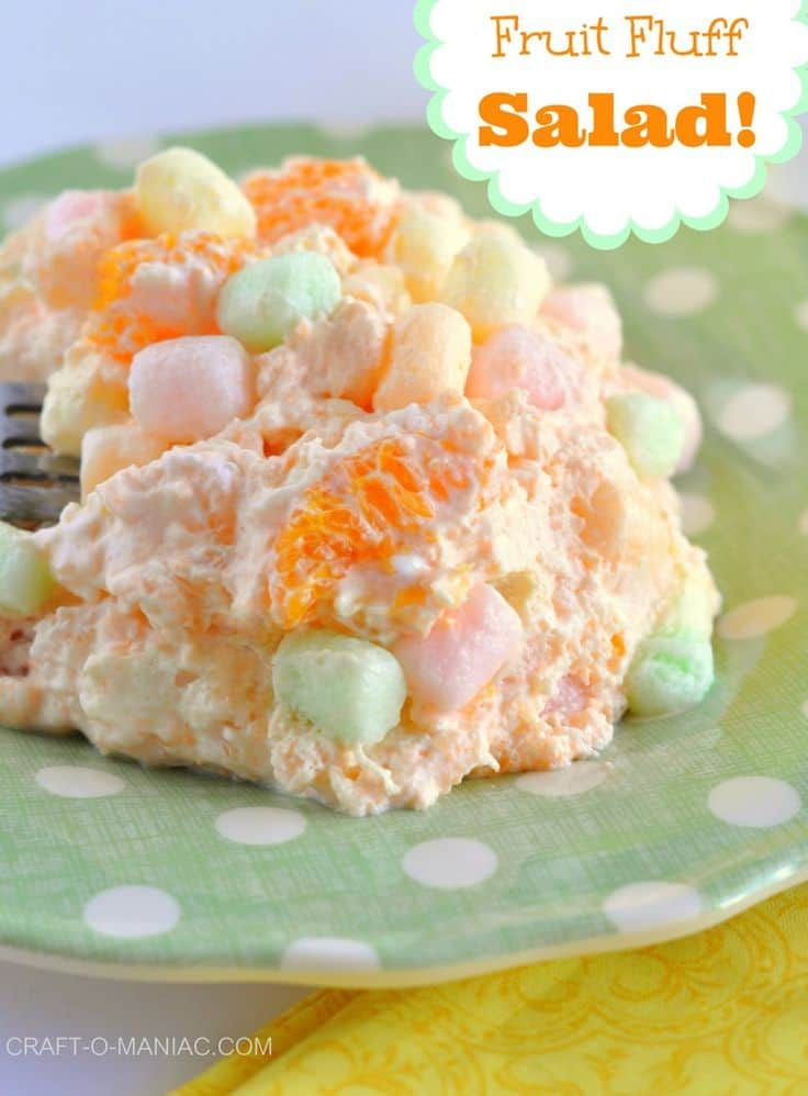 Orange Jello Salad Fruit Recipes