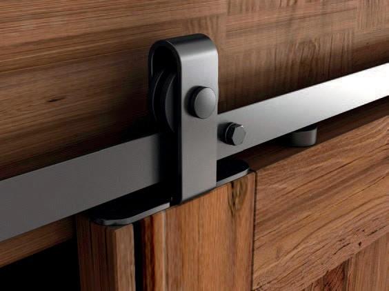 discount kitchen sinks wooden island mini flat rail barn door hardware kit (top mount)