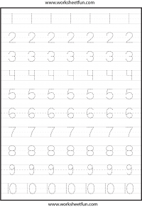 trace / FREE Printable Worksheets