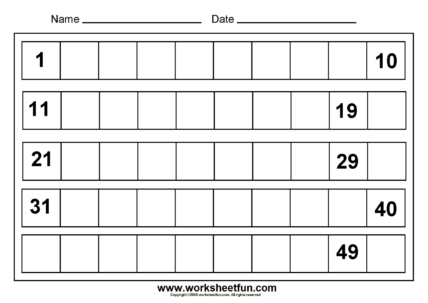 Worksheet Missing Number Grid Multiplication
