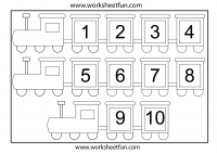 Theme – Train / FREE Printable Worksheets