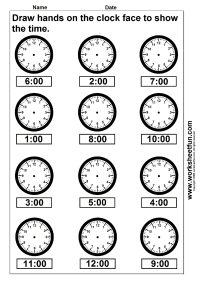 time worksheet: NEW 298 TIME WORKSHEET KINDERGARTEN HOUR