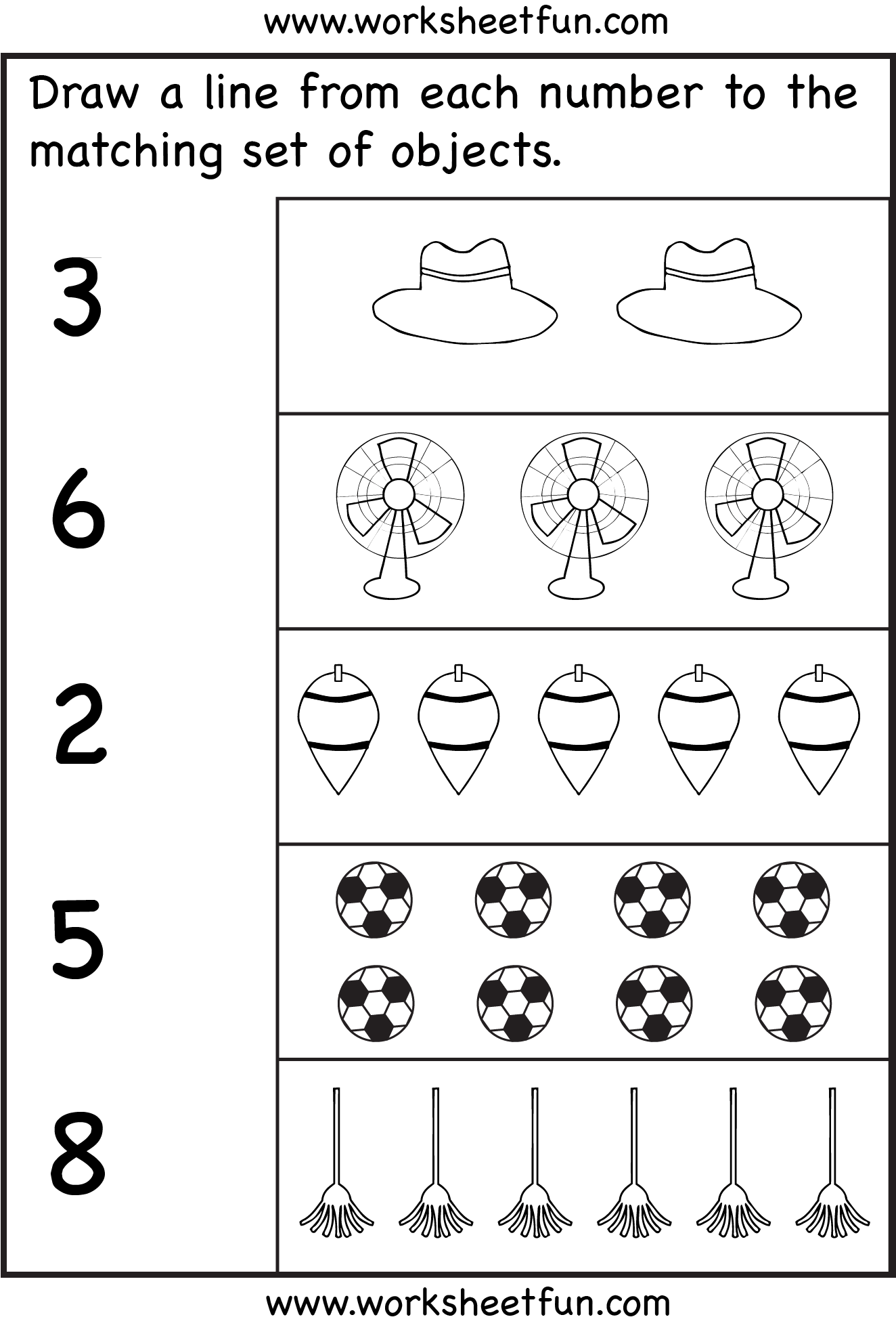Counting 6 Worksheets Free Printable Worksheets