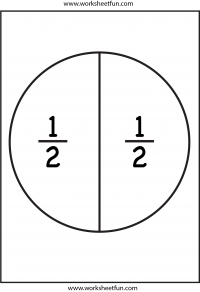Fraction Circles Template