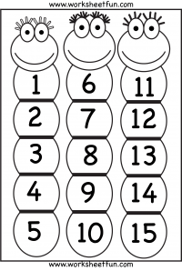 Number Counting / FREE Printable Worksheets