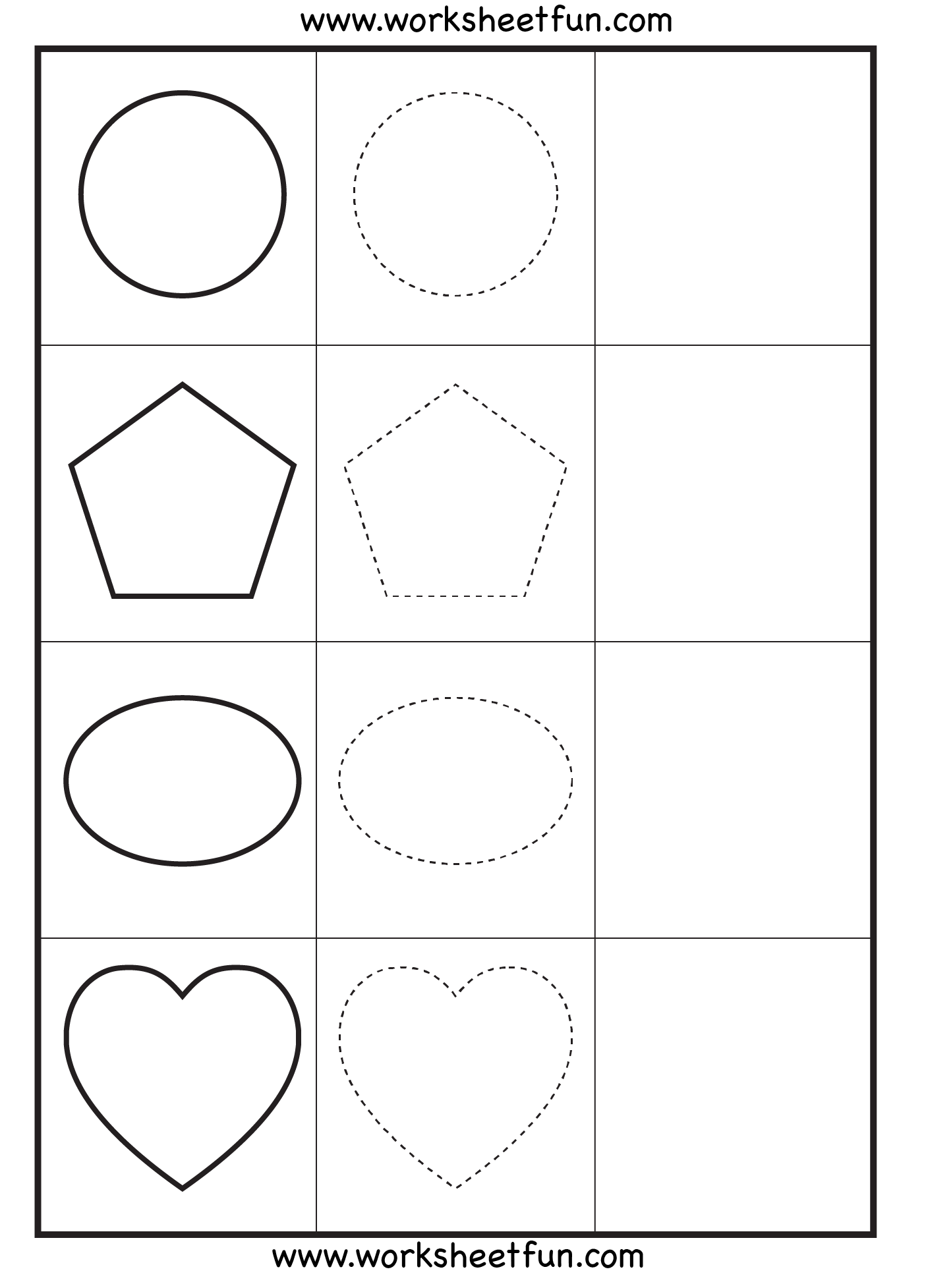 Shape Special Education And Preschool Shapes