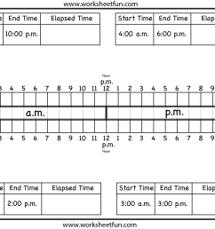 Worksheets On Elapsed Time   Printable Worksheets and Activities for  Teachers [ 1428 x 1886 Pixel ]