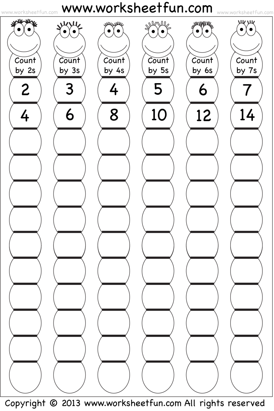 Image Result For Worksheet Of Reverse Counting