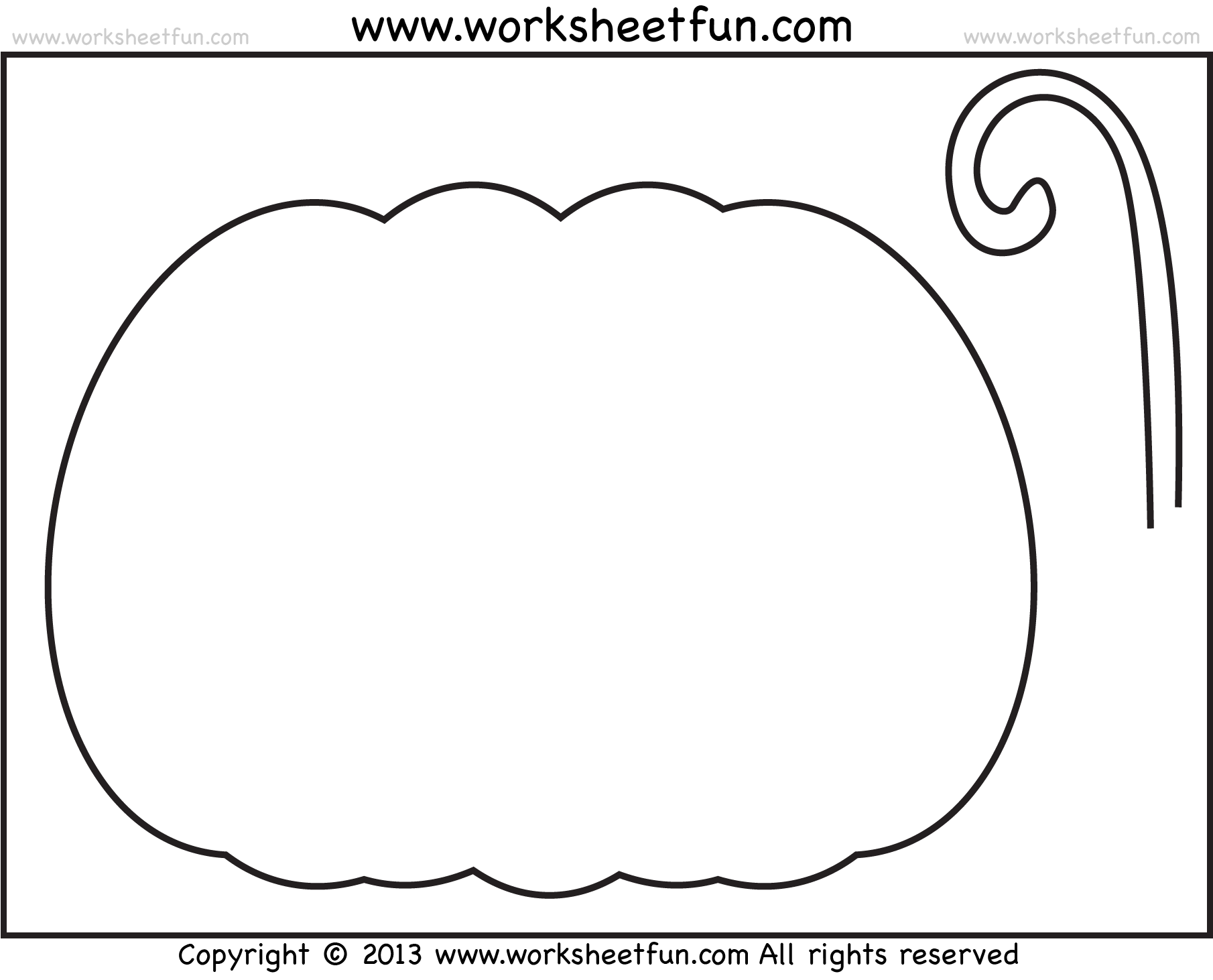 Halloween Printable Stencils For Pumpkin 2 Worksheets Free Printable Worksheets Worksheetfun