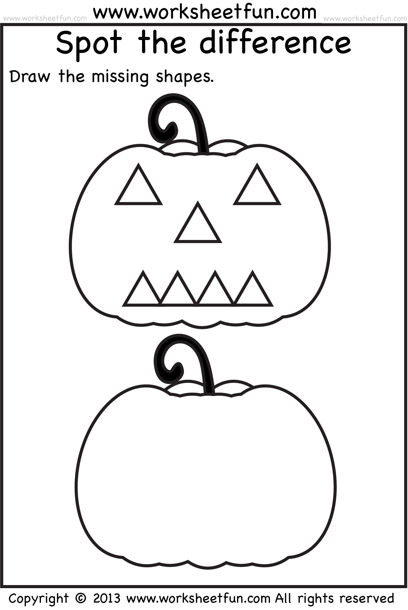 Spot The Difference 1 Worksheet Free Printable Worksheets Worksheetfun