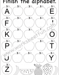 Missing uppercase letters  capital worksheets also free printable worksheetfun rh