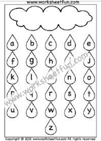 Alphabet Coloring / FREE Printable Worksheets