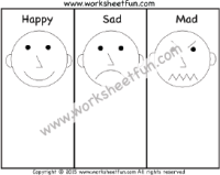 Feelings & Emotions / FREE Printable Worksheets