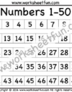 Numbers chart also number  free printable worksheets worksheetfun rh