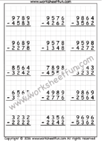 Math Worksheets on Graph Paper / FREE Printable Worksheets