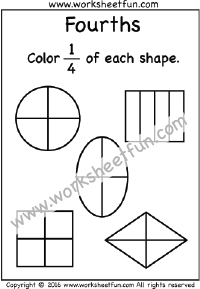 Fraction / FREE Printable Worksheets
