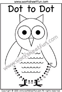 Free Printable Dot To Dot Worksheets For First Grade