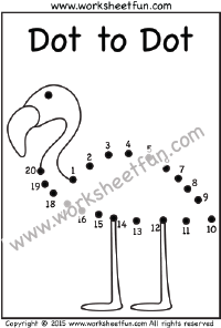 Dot to Dot – Swan – Numbers 1-20