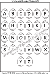 abc chart / FREE Printable Worksheets