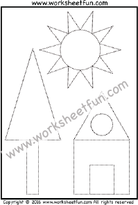 Shapes / FREE Printable Worksheets