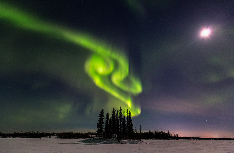 Yellowknife Canada Northern Lights