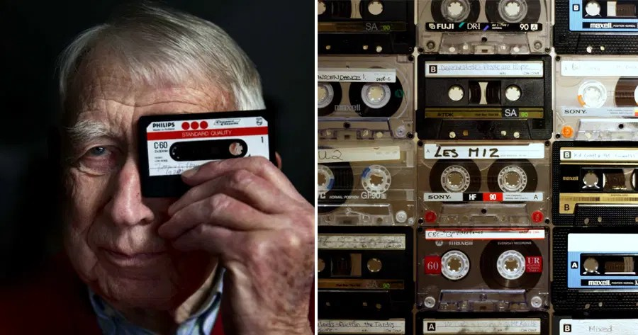 """You made me a happy kid!"""" Cassette Tape Inventor Dies At 94yo, 80s & 90s  Kids Pay Tribute - WORLD OF BUZZ"""