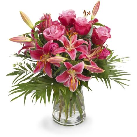Lilien und Rosentraum  Lilien und Rosentraum bestellen