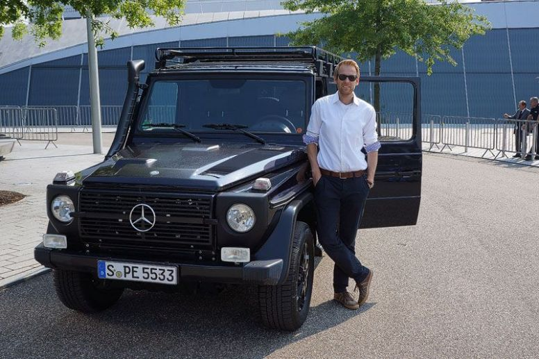 Die Mercedes-Benz G-Klasse Professional, der Iron Schöckl und Ich