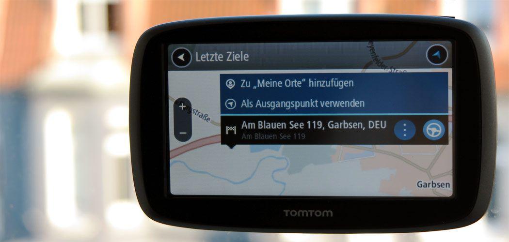 TomTom GO 50 - Titel - Worldtravlr.net