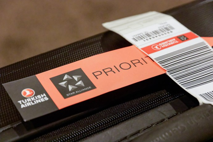 Turkish Airlines Airbus Priority Luggage