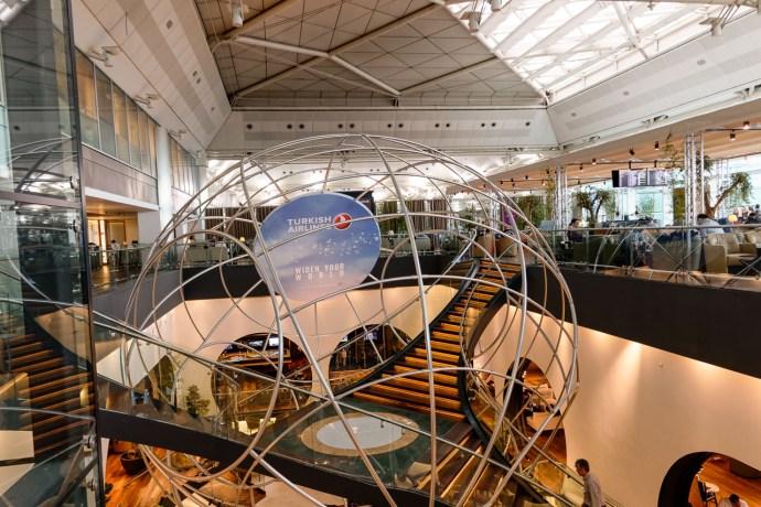 Istanbul / CIP Lounge der Turkish Airlines