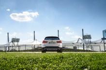 2015 BMW X1 xDrive25i Testfahrt - Rückansicht (c) BMW AG