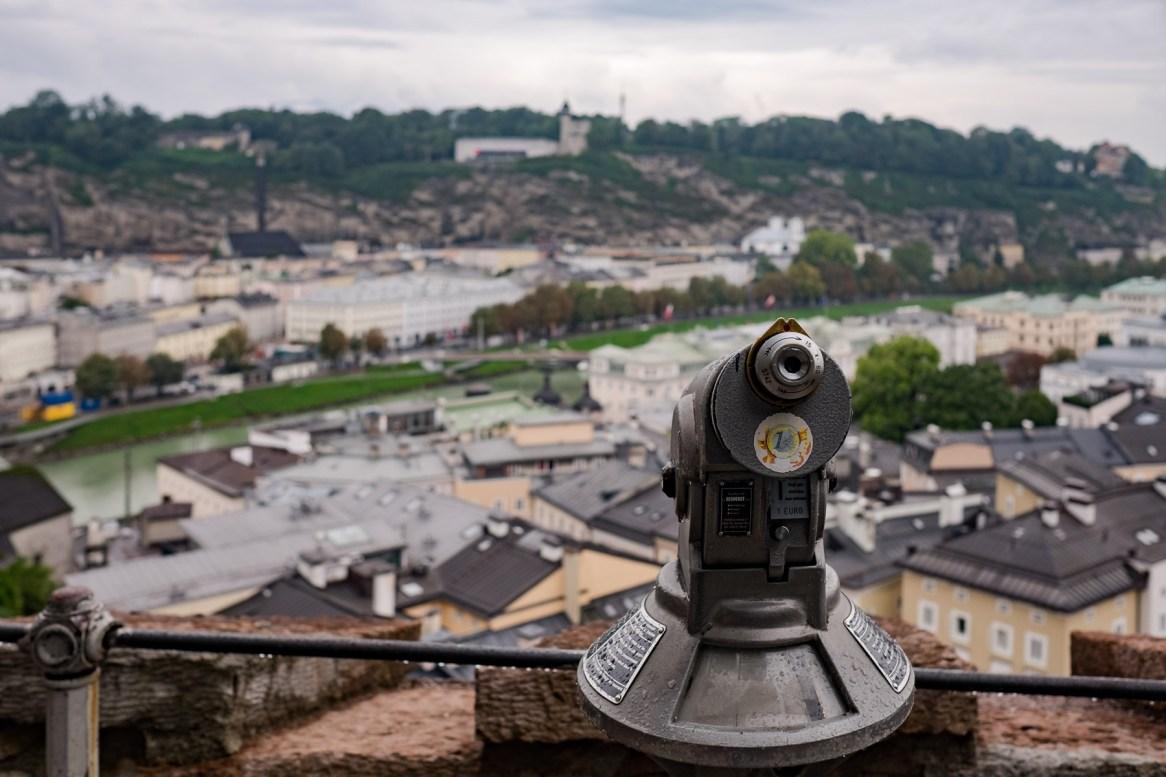 Salzburg von oben