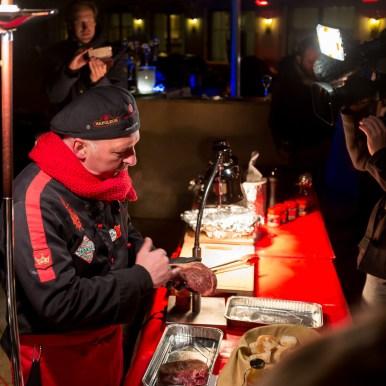 Wintergrillen mit Adi Matzek, Napoleon Grill, Hotel Arlberg Lech