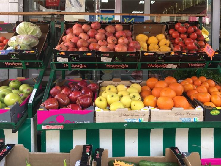 Paris Obsthändler