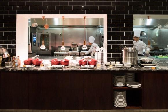 Hotel Pullman Auckland - Frühstück im Tapestry Dining